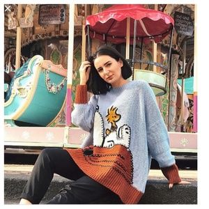 Zara peanurts snoppy sweater (0021)